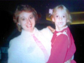 Sarah & Mom Backstage