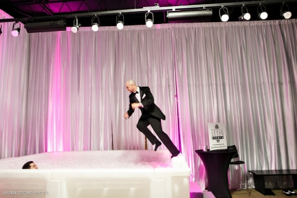 Night of Fashion - Track Seven Ball Pit - SAS Weddings - Laura Stone Photography